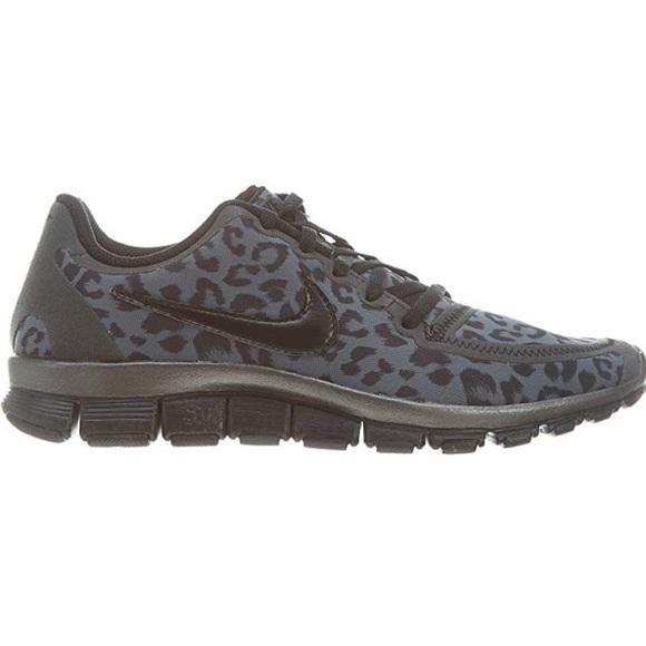 Nike Free 5.0 Leopard Print Women's Sneakers